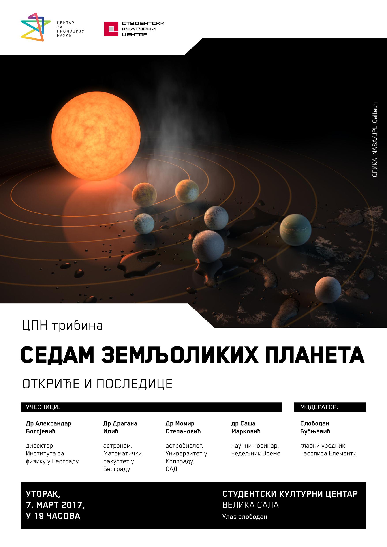 plakat-za-07-mart-2017-cpn-tribina-sedam-zemljolikih-planeta