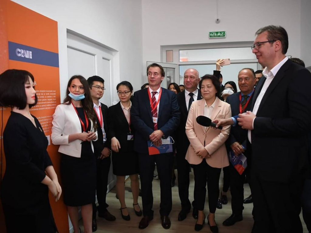 PRESIDENT OF SERBIA VISITS EDUCATION TECHNOLOGY EXPERIENCE CENTER CO-ESTABLISHED BY NETDRAGON